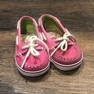 Pink Sperry top-sider- toddler💕